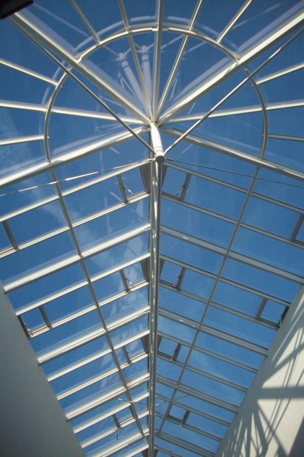 Boots Library Atrium Roof