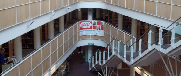 View from 2nd Floor of Boots Library