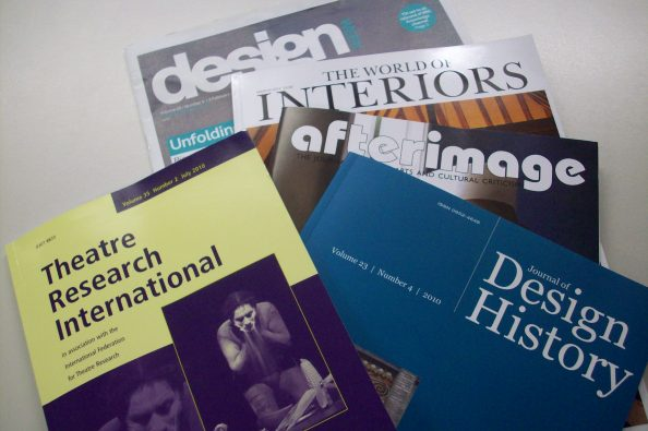 Selection of Design Journals