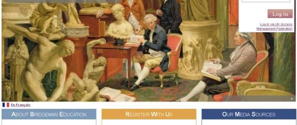 Bridgeman Education Homepage