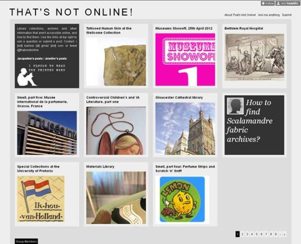 Thats's Not Online Homepage