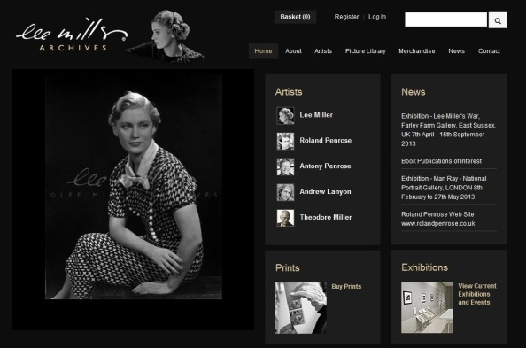 Lee Miller Archive Homepage