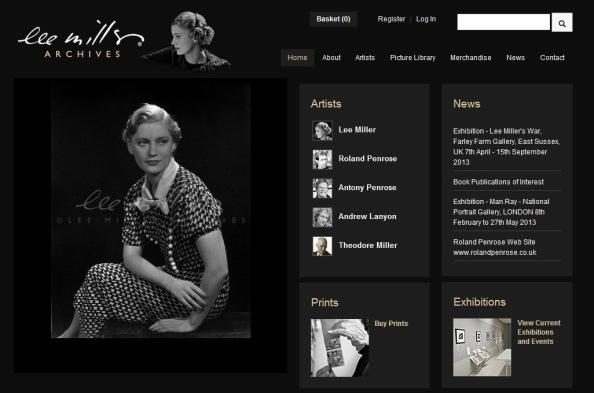 Lee Miller Archive Homepage