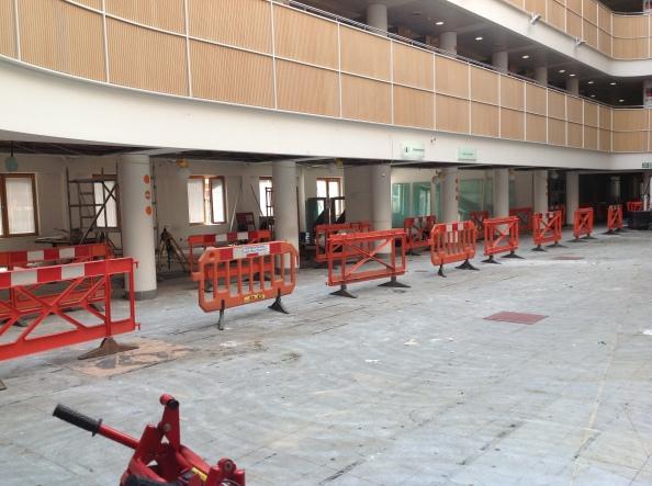Ground floor, looking towards former Short Loan area